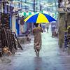 Boy with Umbrella, Colombo, Sri Lanka 1987
