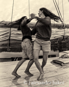 Dancing on the Deck
