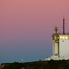 Sunset Moonrise at Nobbys Lighthouse, Newcastle NSW