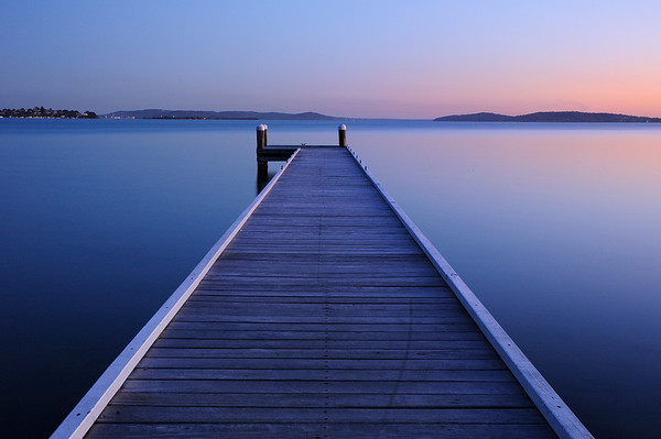 Tranquility - Green Point jetty, Belmont NSW.