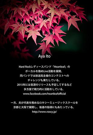 Heartleaf www.facebook.com/heartleafofficial  ROXY MUSIC http://www.roxcy.jp/
