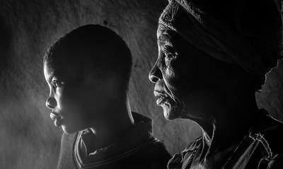 19 Grandmother and Granddaughter [Zimbabwe] 2014