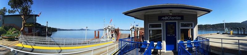 BC Ferries - The Dock : Parallel 48.812