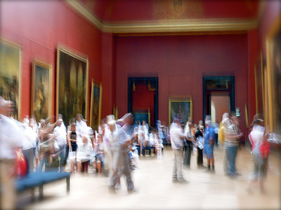 Dancing at the Louvre