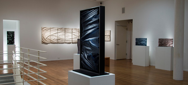 Exhibition of drapery sculptures explores the intersections of body, landscape, fashion and weather by Karen LaMonte