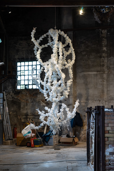 Ai Weiwei Chandelier at Glasstress 2019
