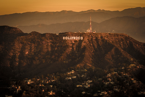 Aerial Image of the Hollywood Hills
