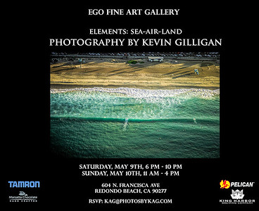 Elements: Sea-Air-Land Kevin Gilligan Photography Show, May 2015.