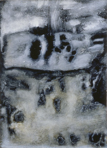 oil on prepared paper image 72 x52cm Framed 92 x72cm 1996