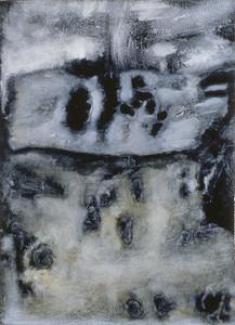 oil on prepared paper image 72 x52cm Framed 92 x72cm 1996