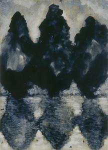 oil on prepared paper, imgae 72 x52cm Framed 92 x72cm