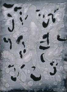 oil on prpeared paper image 72 x52cm framed 92 x72cm 1996
