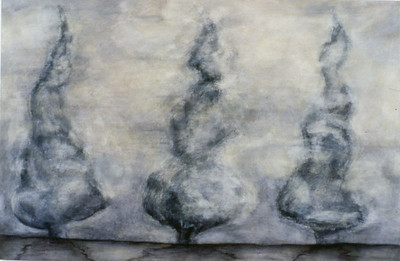 Temporal States, oil on canvas 122 x183cm 1995