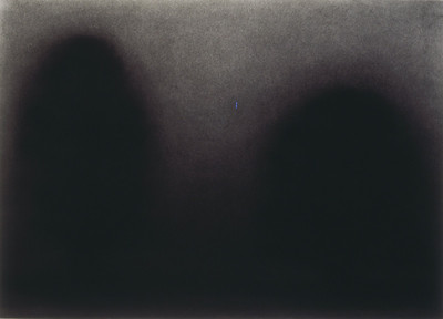 charcoal on paper image 52x72cm 1999