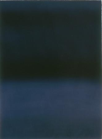 oil on prepared paper image 72 x52cm framed 92 x72cm 1998