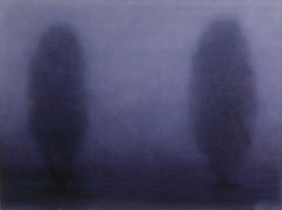 Winter Dusk, oil on canvas, 137x183cm 2001