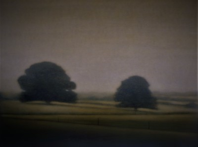 Cudgee Landscape, oil on canvas 137 x183cm 2004 SOLD