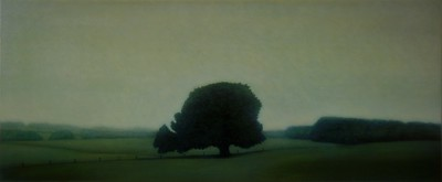 Cudgee Tree, oil on canvas 76 x183cm 2005 SOLD