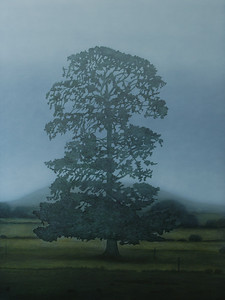 Mt Leura, oil on canvas 183x137cm 2008