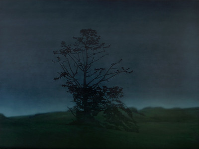 Road to Foster, oil on canvas 137x183cm 2008