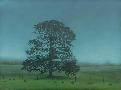 The Big Tree, oil on linen 76x102 cm 2009