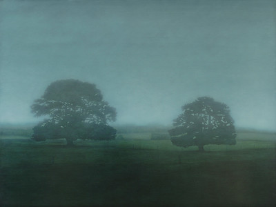 Jack's Farm, oil on linen 137 x183cm 2009