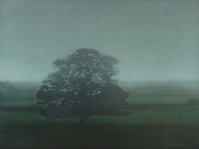 Panmure Winter oil on linen 137 x183cm 2009