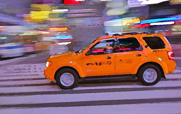 NYC Taxi (c) Daniel Yoffee