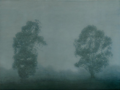 South West Fog 1, oil on linen 137x183cm 2010