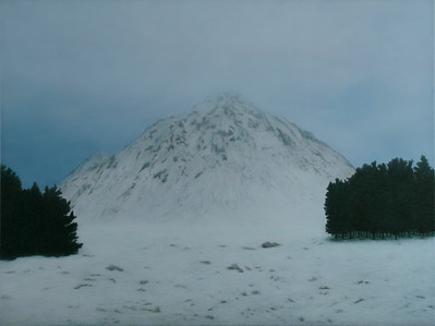 Buachaille Etiv Mor, oil on linen 137x183cm 2010 P.O.A. (mel)