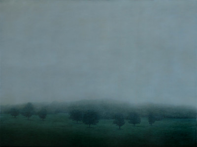 Winter View , oil on linen 137x183cm 2010