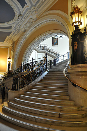 Methodist Stairway - Terry Stoten. Highly Commended, Prints.