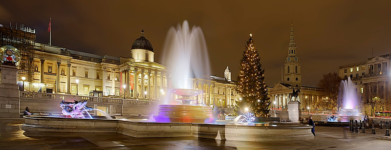 Christmas in the Square - Steven Harrison. Commended, Prints.