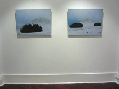 Exhibition installation Flinders Lane Gallery Melbourne