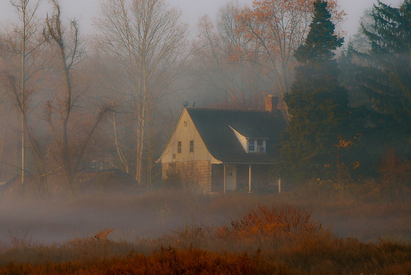 The Fog - Orangeburg, NY (c) November 2010 Daniel Yoffee