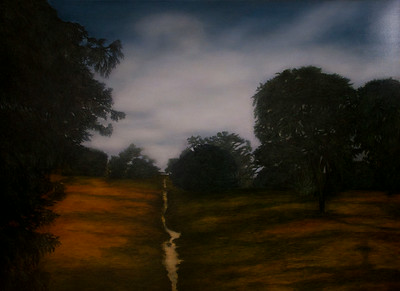 Approaching Nightfall, oil on linen 137 x183cm P.O.A. (mel)
