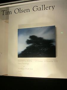 Exhibition installation Tim Oslen Gallery Sydney