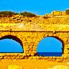 Aqueduct of Caesarea - Caesarea, Israel (c) Daniel Yoffee