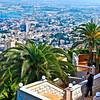 The View of Haifa from Mount Carmel (c) Daniel Yoffee