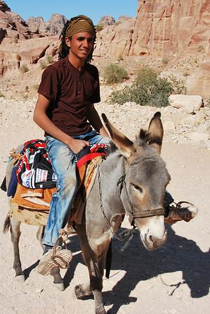 Mohammed, Donkey Handler, Petra Jordan (c) Daniel Yoffee