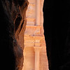 A Peek Through the Cracks - The Treasury, Petra (c) Daniel Yoffee