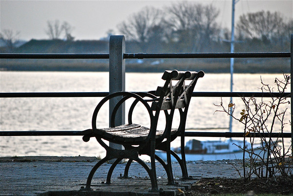 Sunset - City Island, Bronx, New York - November 2010
