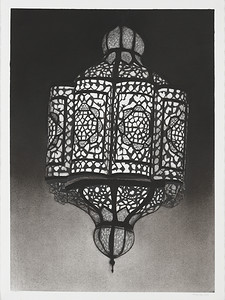 Suspended Lantern #2, charcoal on paper image 72 x52 cm P.O.A. (mel)