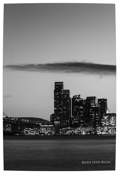 San Francisco Skyline 1 (60 H x 40 W)