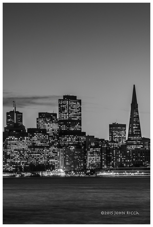 San Francisco Skyline 3 (60 H x 40 W)