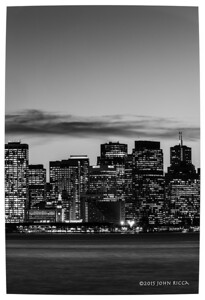 San Francisco Skyline 2 (60 H x 40 W)