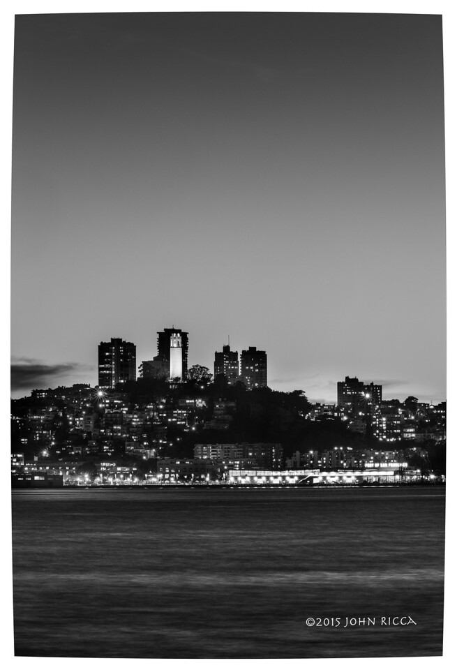 San Francisco Skyline 4 (60 H x 40 W)