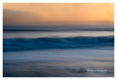 Ocean Sunset 1 (16 x 24)