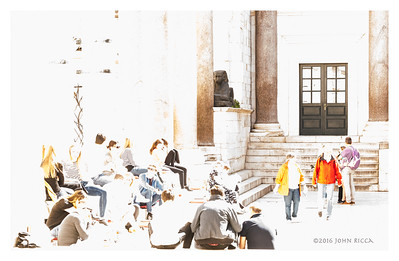 """Diocletian's Palace (16"""" x 24"""")"""