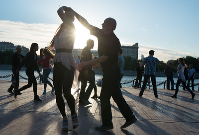 Хастл Open air на Пушкинской Набережной, г. Москва